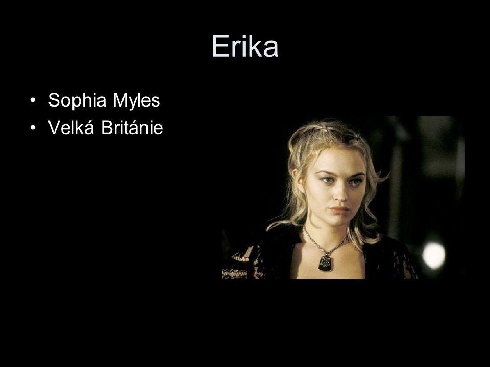 Erika Sophia Myles Velká Británie