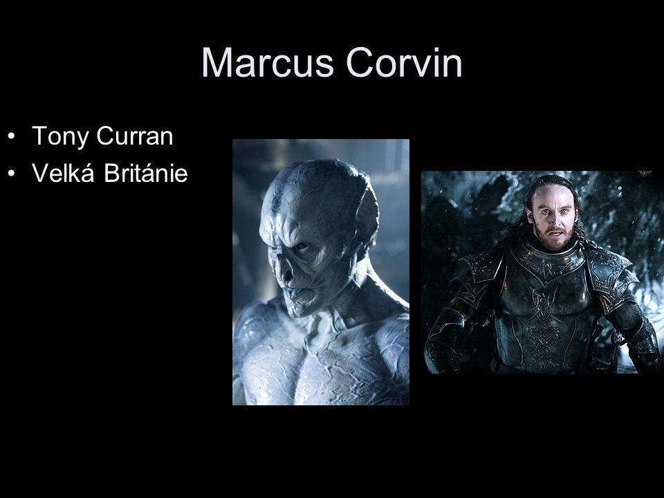 Marcus Corvin Tony Curran Velká Británie