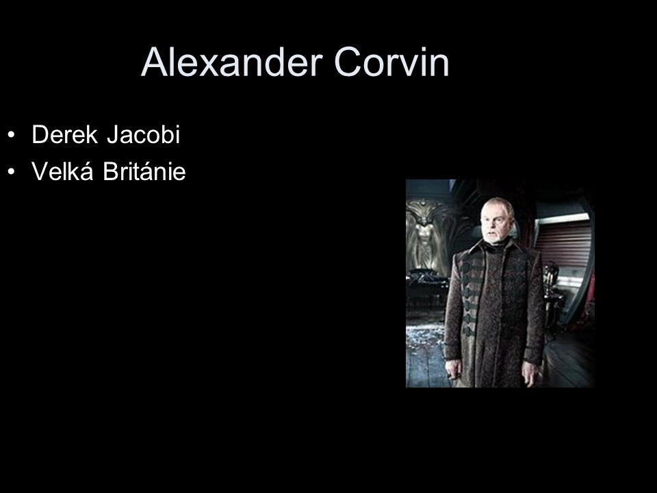 Alexander Corvin Derek Jacobi Velká Británie