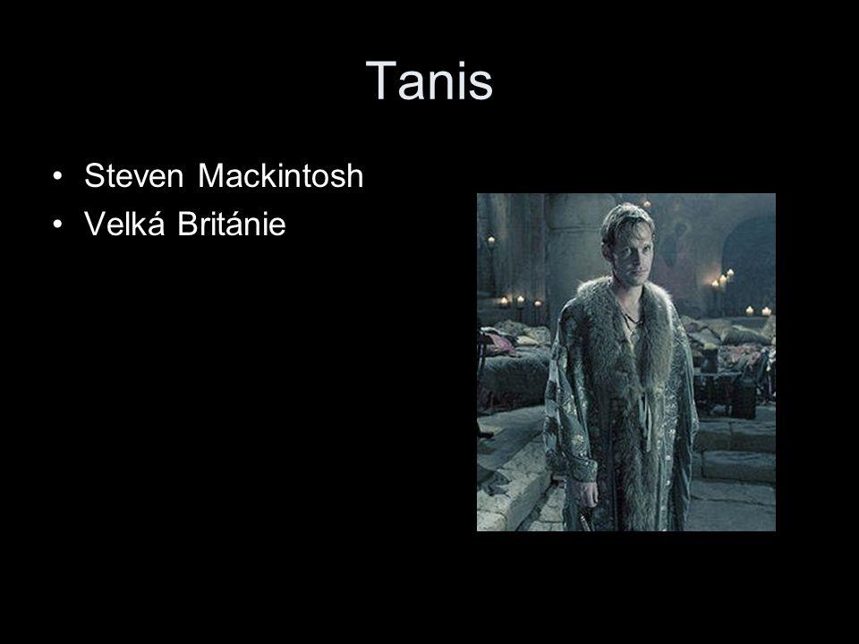 Tanis Steven Mackintosh Velká Británie