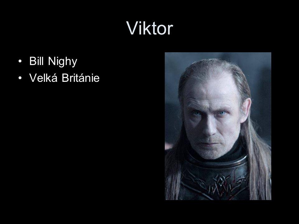 Viktor Bill Nighy Velká Británie
