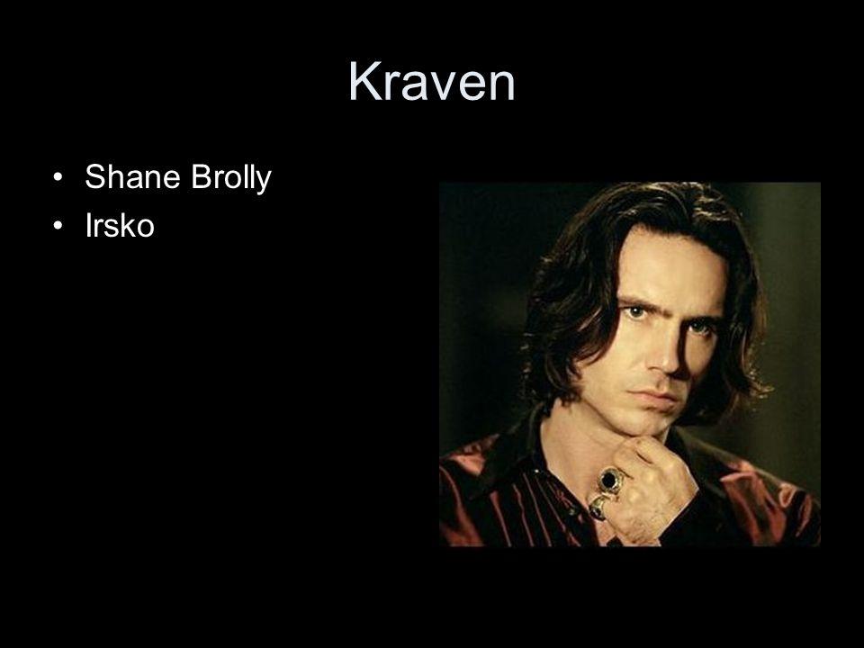 Kraven Shane Brolly Irsko
