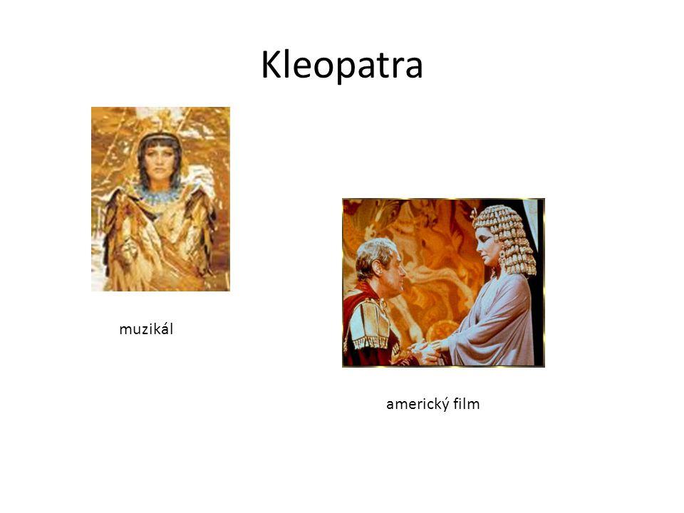 Kleopatra muzikál americký film