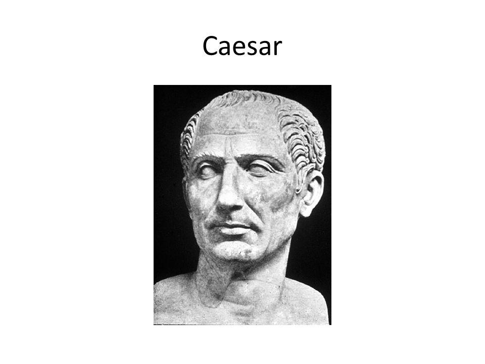 K zamyšlení Jak asi vzniklo slovo císař?