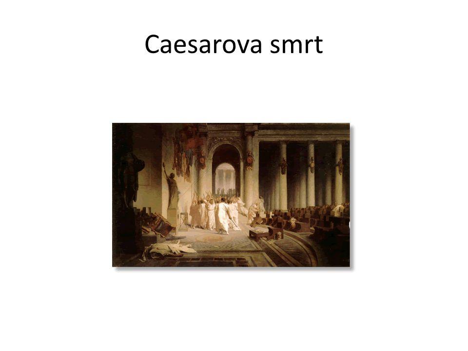 Caesarovy citáty Veni, vidi, vici.(Přišel jsem, viděl jsem, zvítězil jsem.) Alea iacta est.