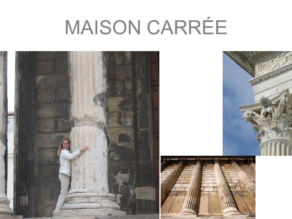 MAISON CARÉE Nimes Kapitol ve Virginii (T.Jefferson)