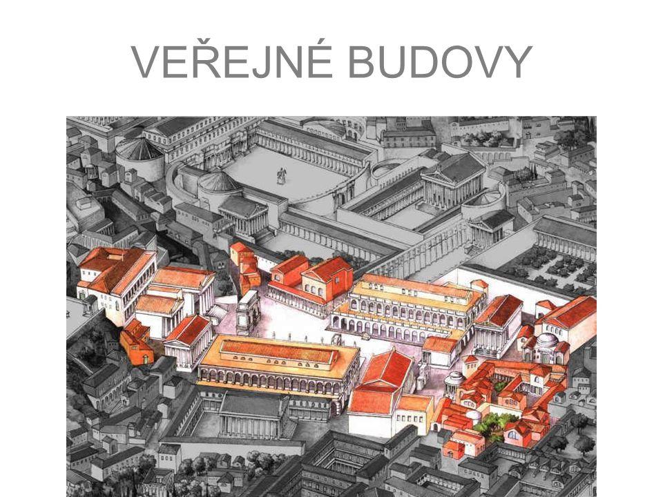 BAZILIKA Světská stavba antického Říma (tržnice) postupná proměna na základní typ podélného kostela