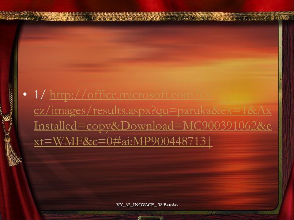1/ http://office.microsoft.com/cs- cz/images/results.aspx?qu=paruka&ex=1&Ax Installed=copy&Download=MC900391062&e xt=WMF&c=0#ai:MP900448713|http://off