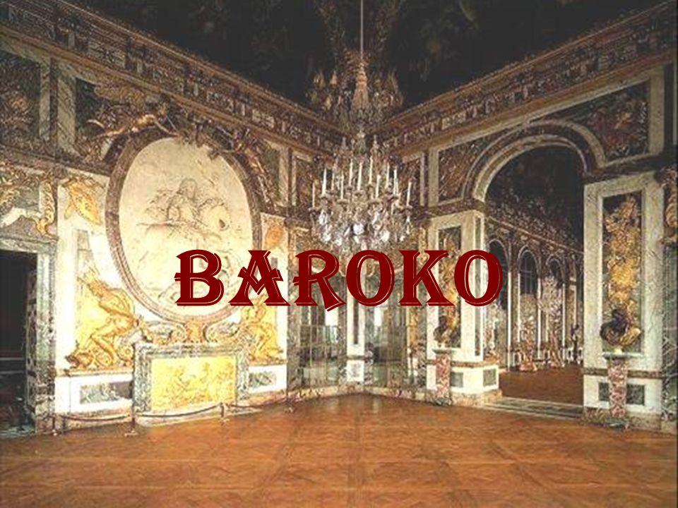 CHARAKTERISTIKA BAROKA - přibližně 17.– pol. 18. stol.