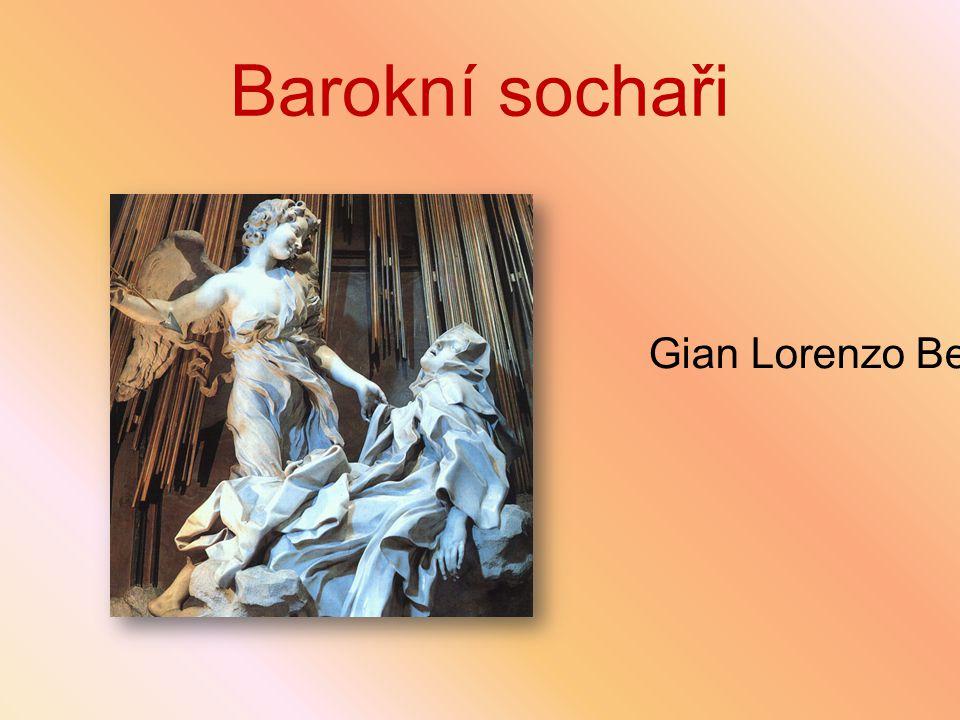 Barokní sochaři Gian Lorenzo Bernini