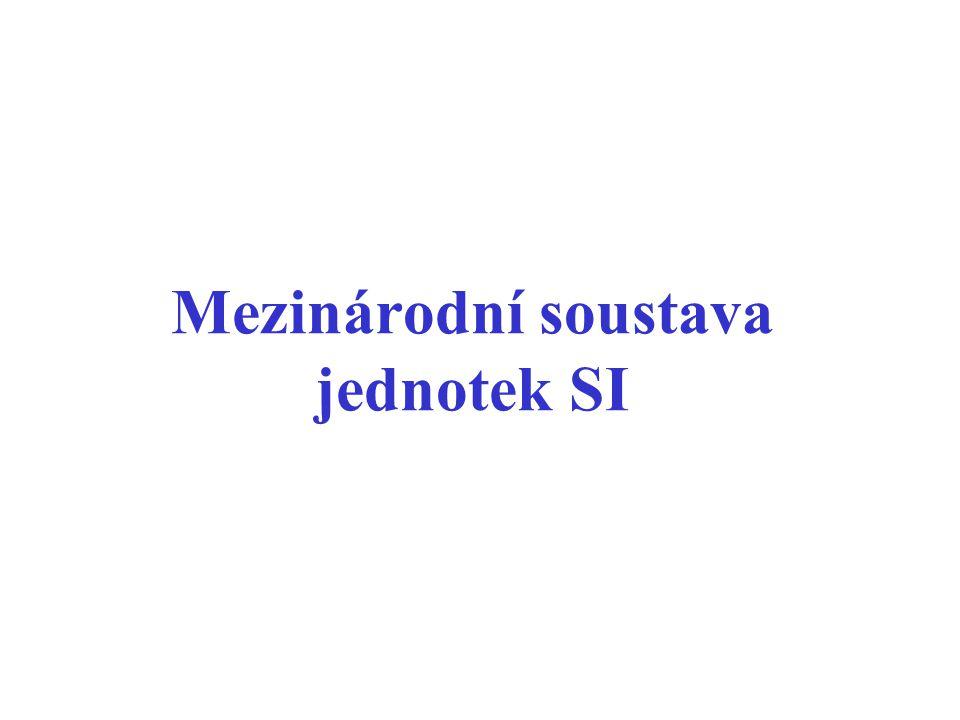 Mezinárodní soustava jednotek SI