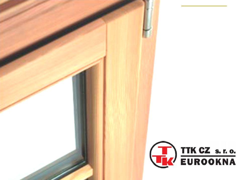 Okenní systém 12.25 Eurofalz pro okapnici DRAU 25 Shodné dělení čepů v křídle a v rámu pro kombinaci otvíravého a pevného zasklení Naléhávka křídla tl.