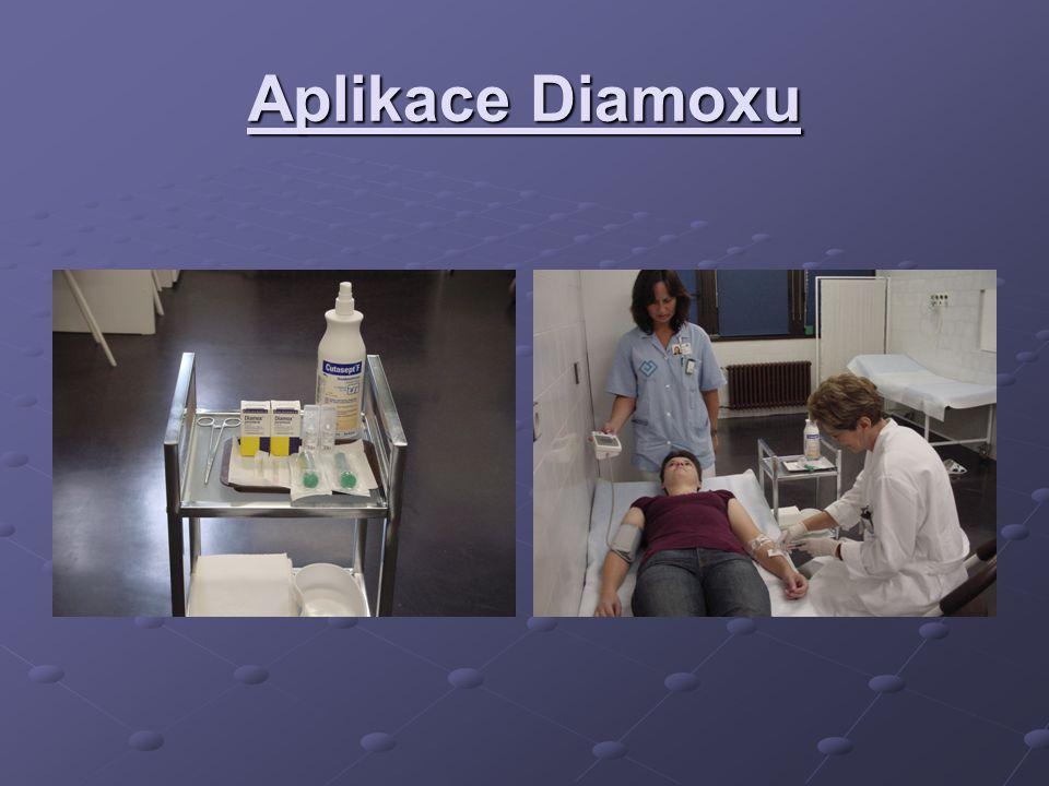 Aplikace Diamoxu