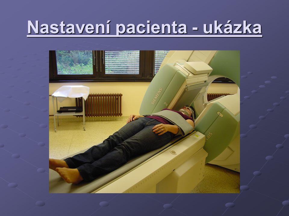 Nastavení pacienta - ukázka