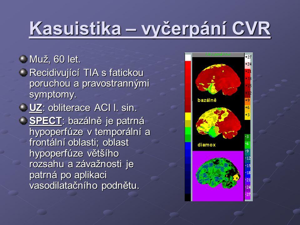 Kasuistika – vyčerpání CVR Muž, 60 let.