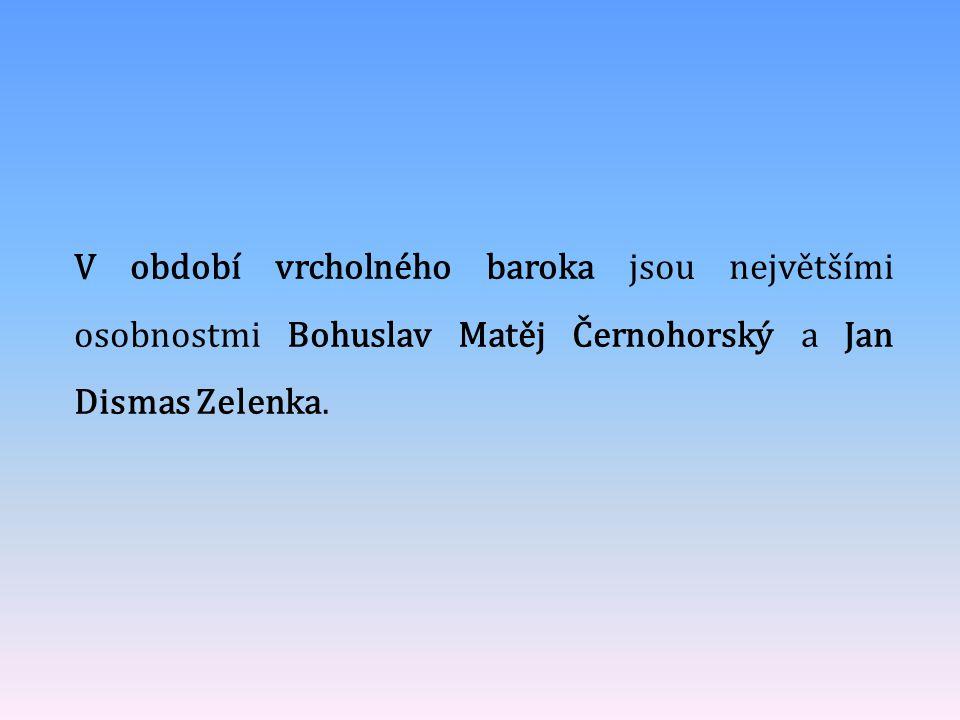 Bohuslav Matěj Černohorský pocházel z Nymburka.