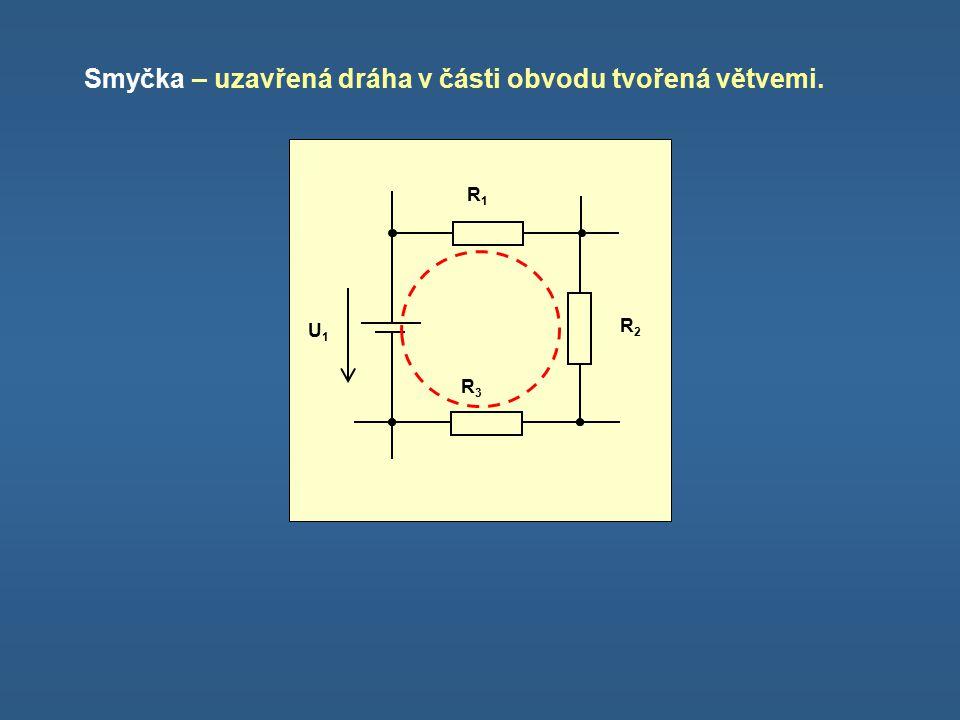 I.Kirchhoffův zákon Ve své podstatě je zákonem o zachování elektrického náboje.