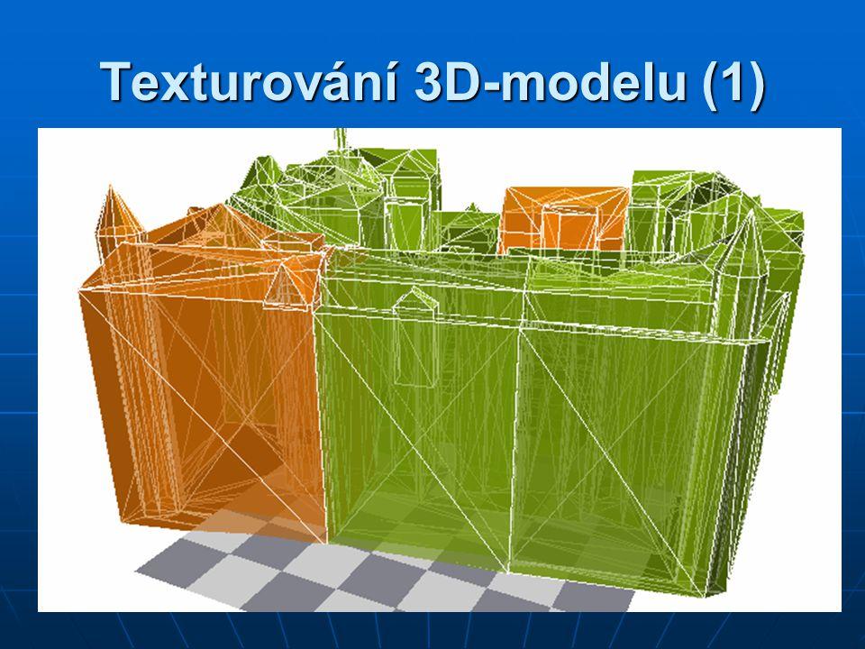 Texturování 3D-modelu (1)
