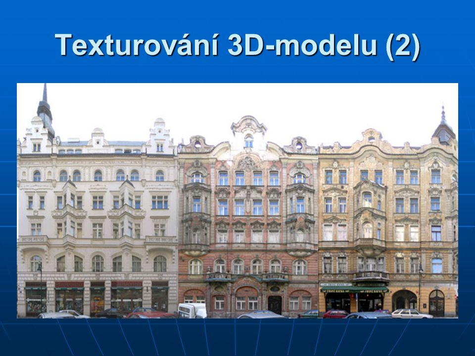 Texturování 3D-modelu (2)