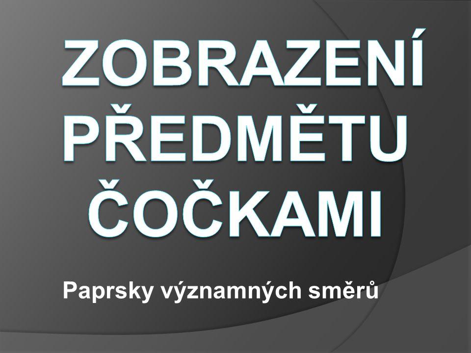 Paprsky významných směrů