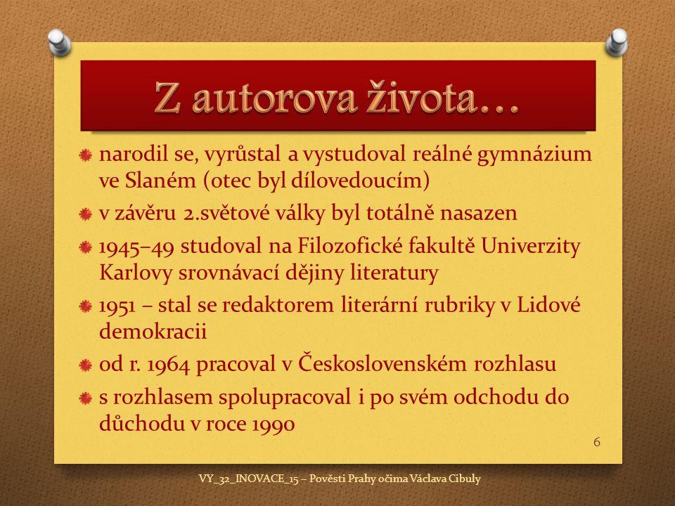 narodil se, vyrůstal a vystudoval reálné gymnázium ve Slaném (otec byl dílovedoucím) v závěru 2.světové války byl totálně nasazen 1945–49 studoval na Filozofické fakultě Univerzity Karlovy srovnávací dějiny literatury 1951 – stal se redaktorem literární rubriky v Lidové demokracii od r.