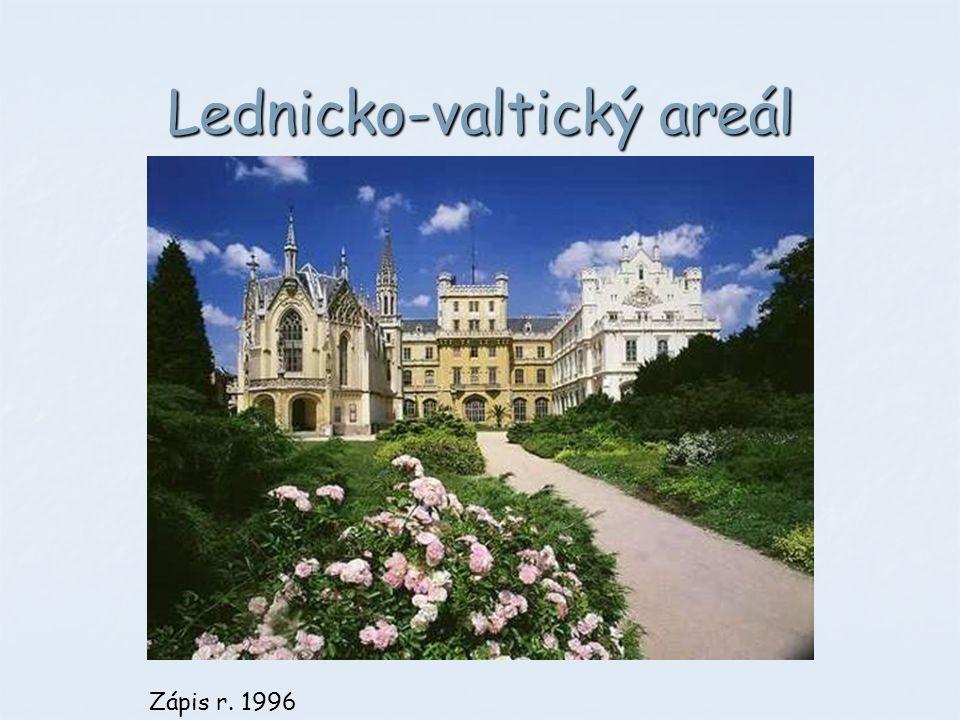 Lednicko-valtický areál Zápis r. 1996