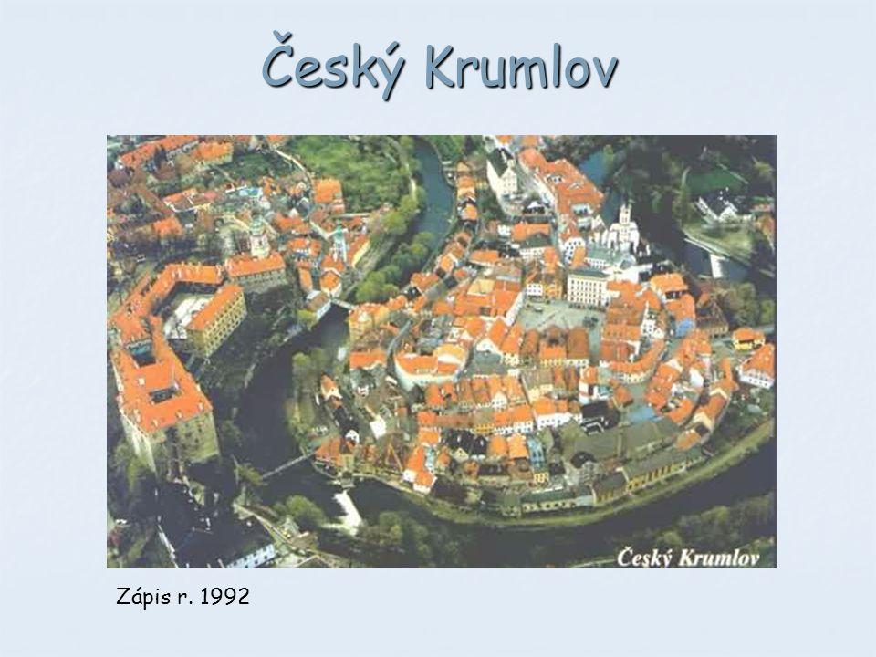 Český Krumlov Zápis r. 1992