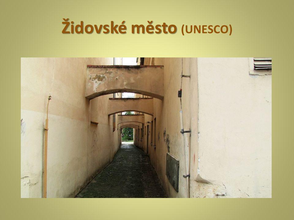 Židovskéměsto Židovské město (UNESCO)