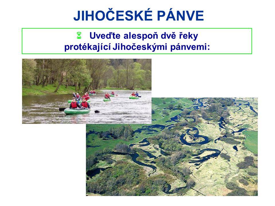JIHOČESKÉ PÁNVE TŘEBOŇSKO biosférická rezervace UNESCO