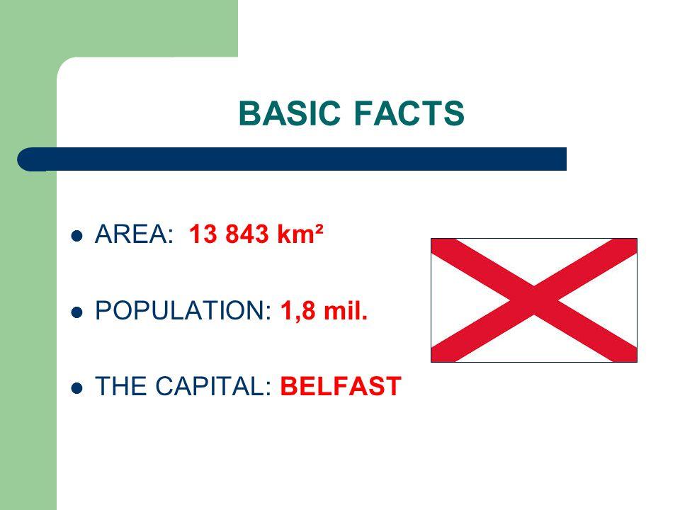 BELFAST The capital of Northern Ireland Irish name: Béal Feirste 320,000 inhabitants