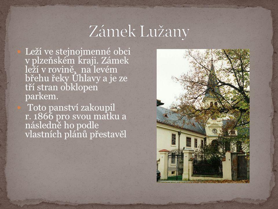 Leží ve stejnojmenné obci v plzeňském kraji.