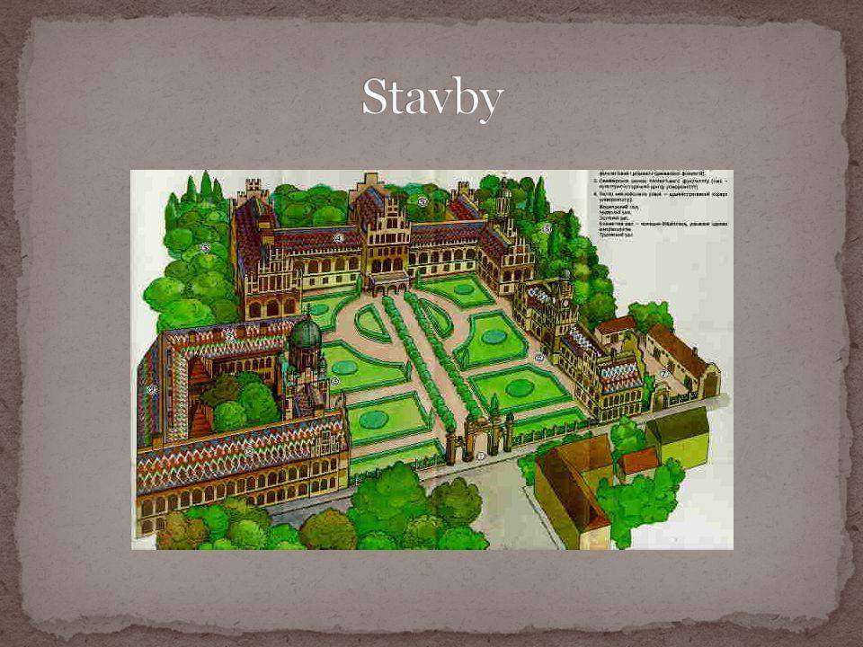 Architektonický komplex nacházející se v ukrajinských Černovicích.