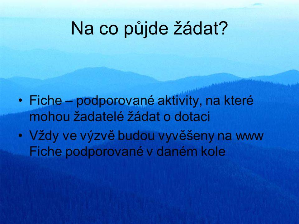 Obce - budování a obnova místních komunikací III.a IV.