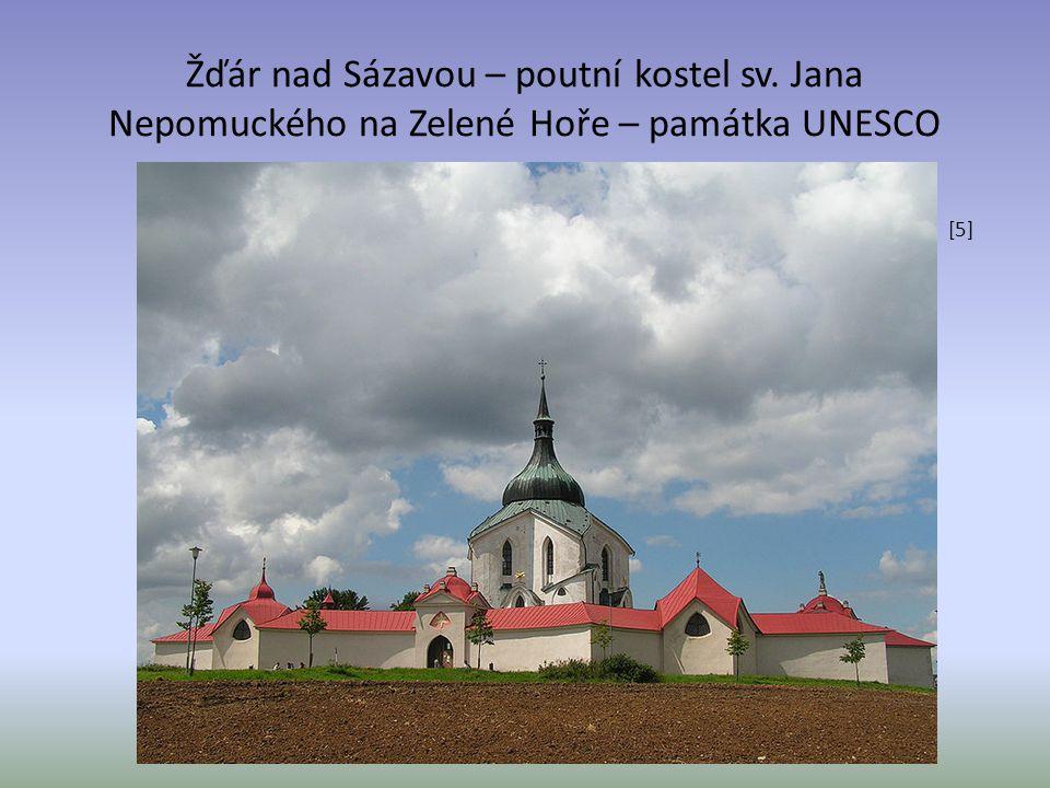 Žďár nad Sázavou – poutní kostel sv. Jana Nepomuckého na Zelené Hoře – památka UNESCO [5]
