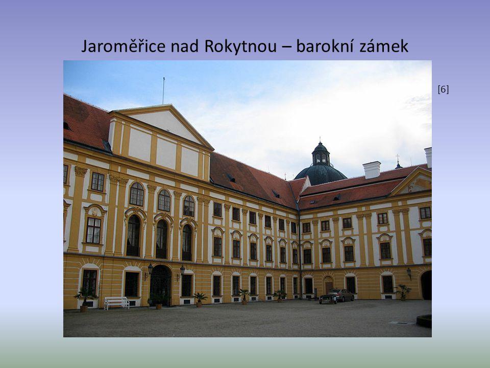 Jaroměřice nad Rokytnou – barokní zámek [6]