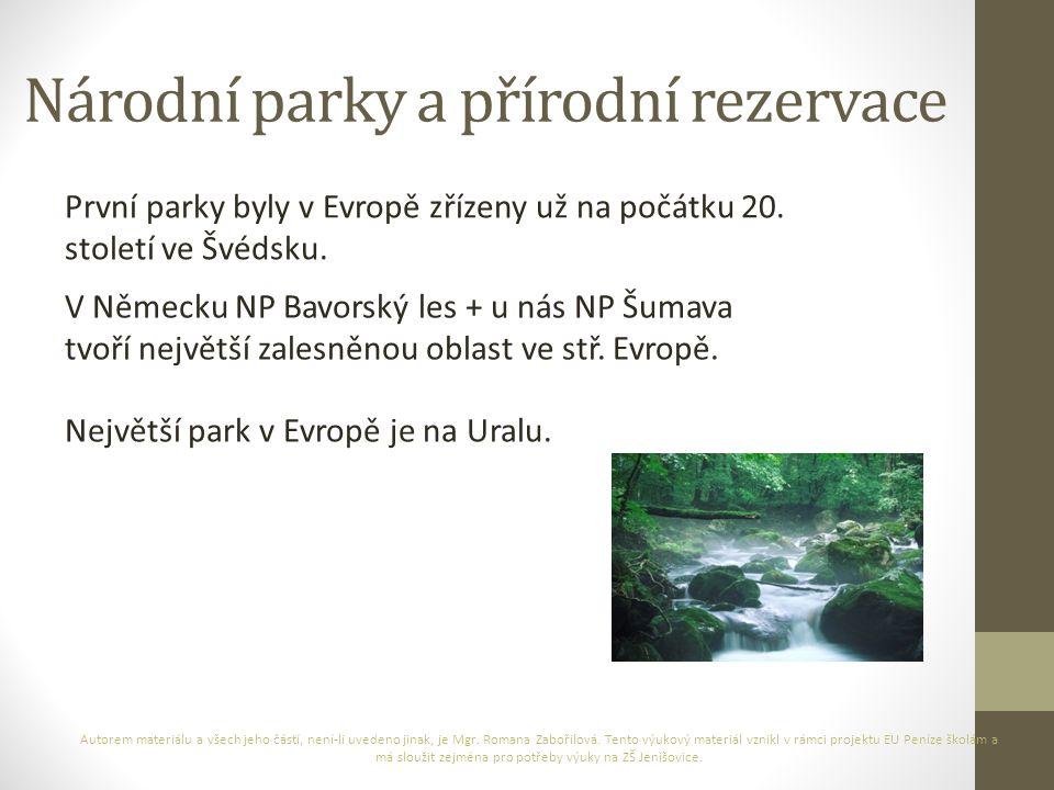 Národní park Jotunheimen (Švédsko) Autorem materiálu a všech jeho částí, není-li uvedeno jinak, je Mgr.