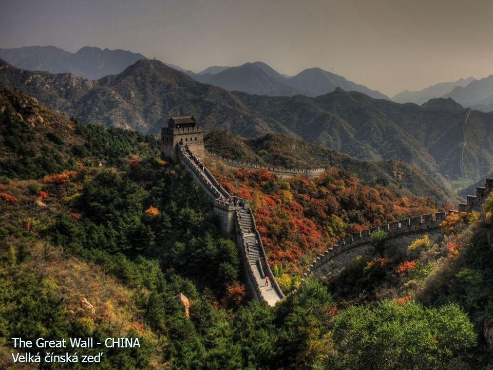 The Great Wall - CHINA Velká čínská zeď