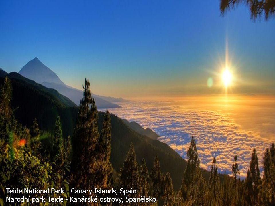 Teide National Park - Canary Islands, Spain Národní park Teide - Kanárské ostrovy, Španělsko