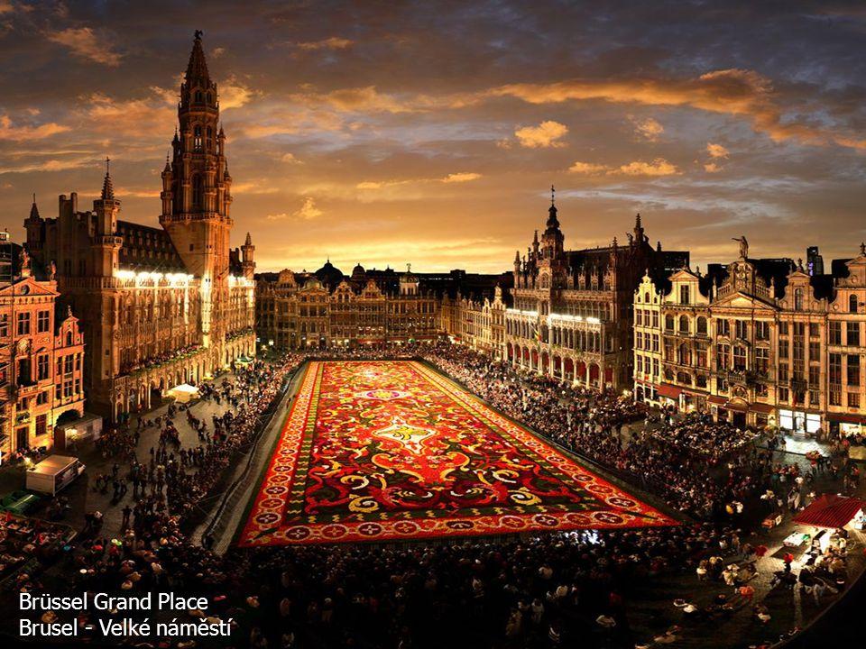 Brüssel Grand Place Brusel - Velké náměstí