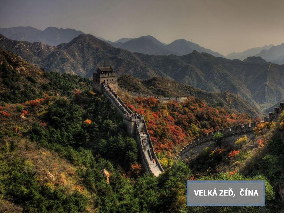VELKÁ ZEĎ, ČÍNA