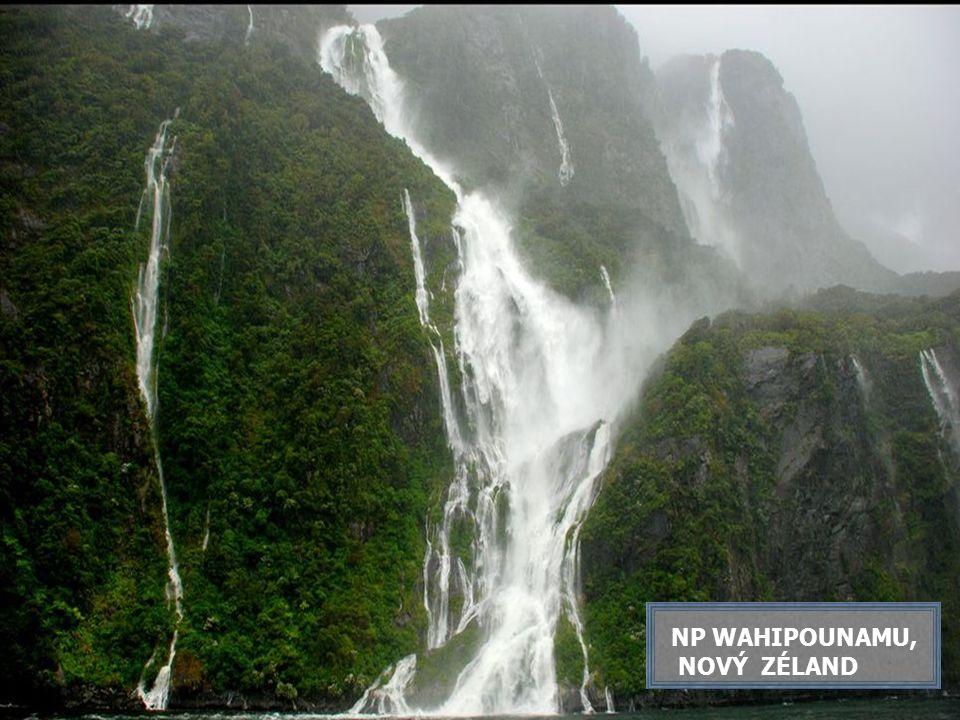 NP WAHIPOUNAMU, NOVÝ ZÉLAND