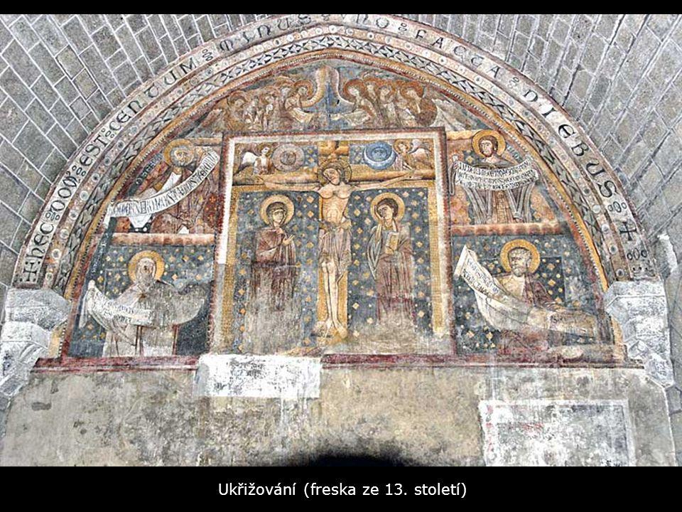 Ukřižování (freska ze 13. století)
