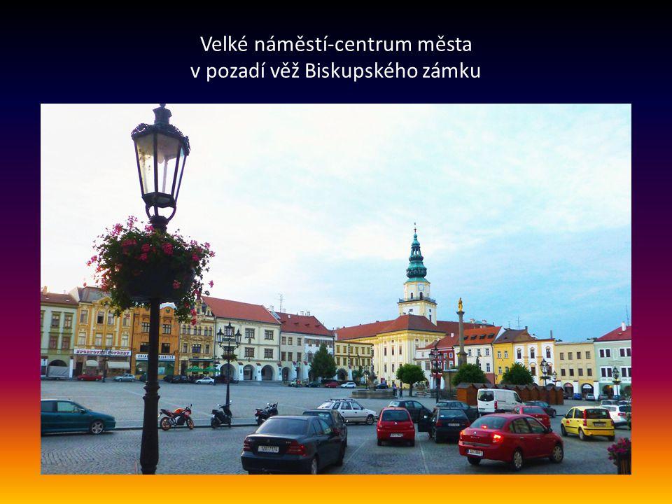 Úvod Kroměříž je okresní město ve Zlínském kraji. Leží na řece Moravě.