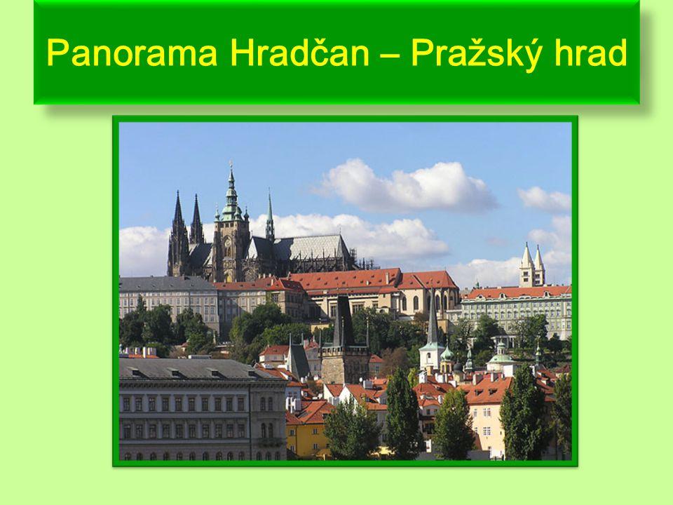 Praha - nejznámější památky