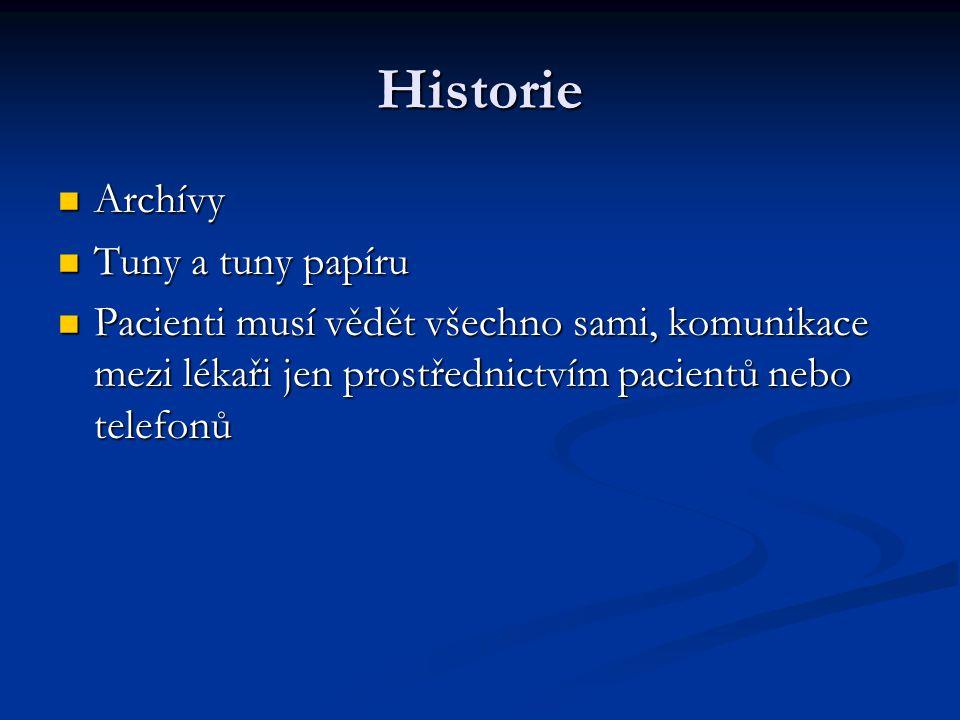 Historie Archívy Archívy Tuny a tuny papíru Tuny a tuny papíru Pacienti musí vědět všechno sami, komunikace mezi lékaři jen prostřednictvím pacientů n