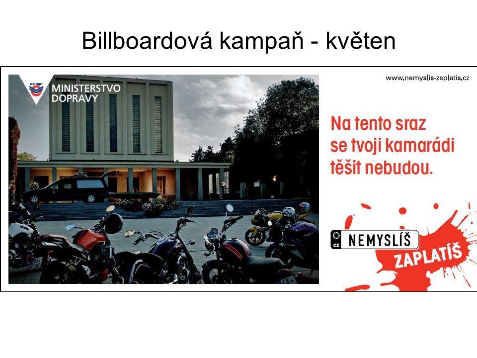 Billboardová kampaň - květen