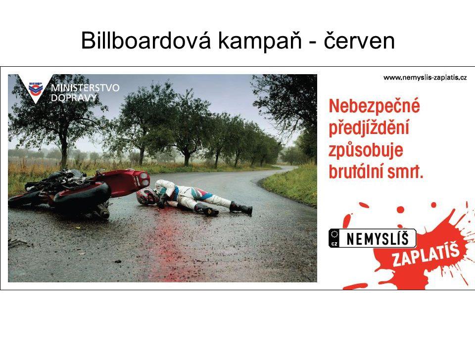 Billboardová kampaň - červen