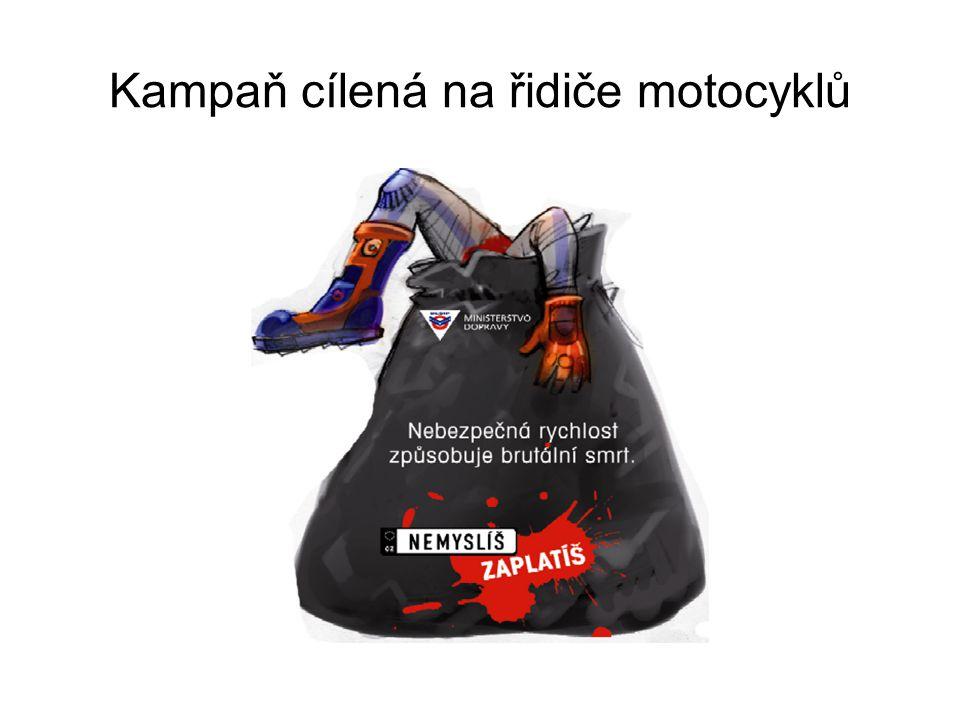 Kampaň cílená na řidiče motocyklů