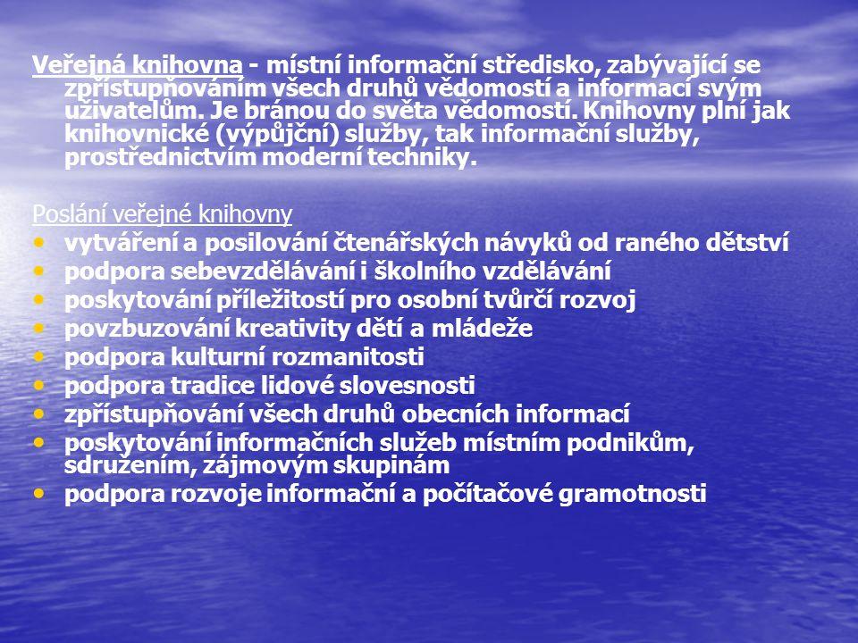 FID Mezinárodní federace pro informace a dokumentaci konec 19.
