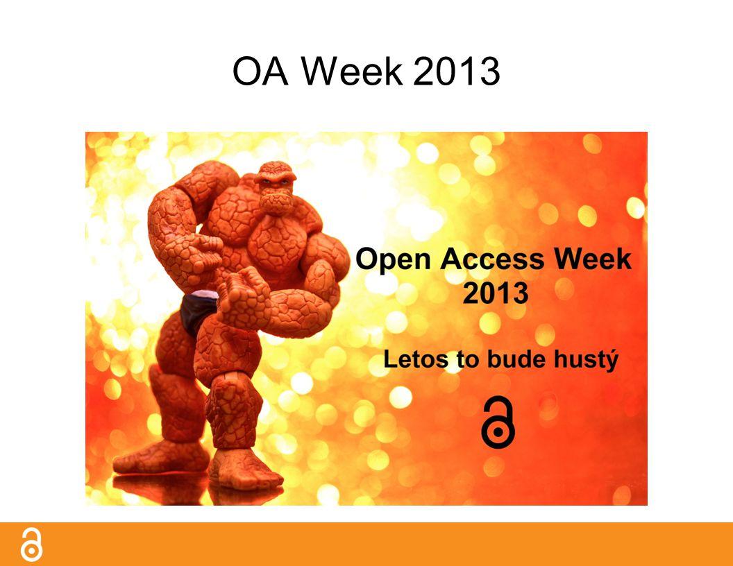 OA Week 2013